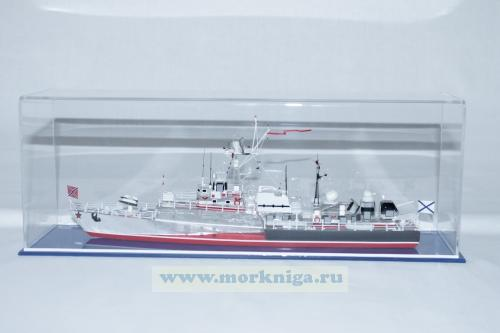 Модель корабля пр. 1124