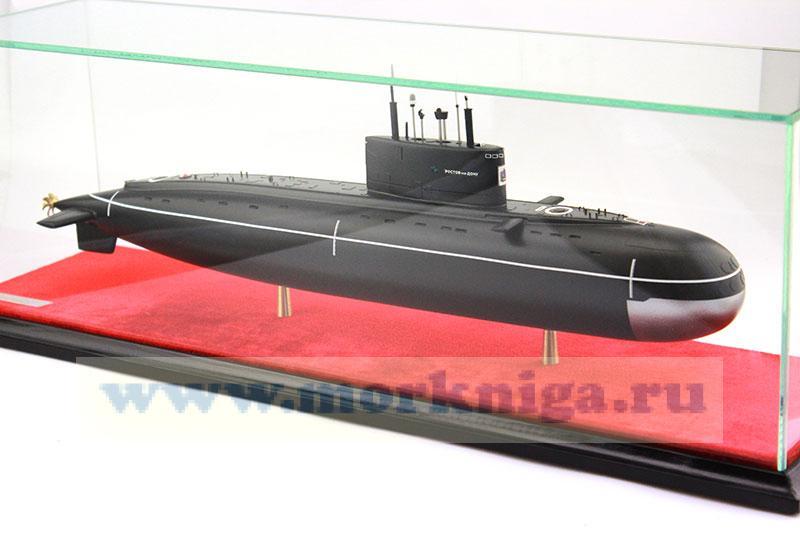Модель дизельной подводной лодки