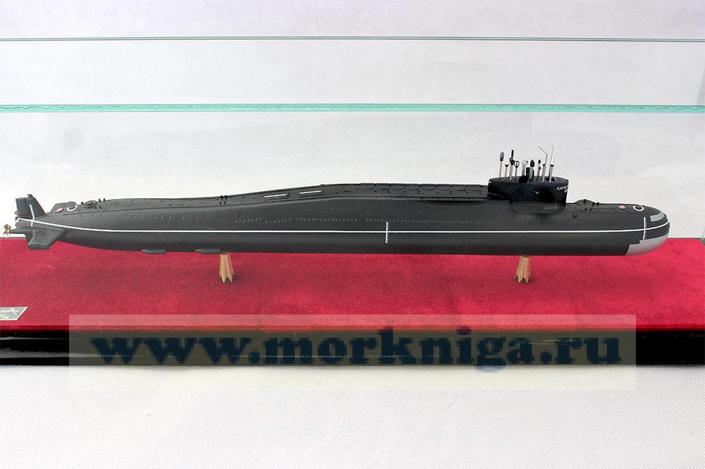Макет атомной подводной лодки проекта 667 БД