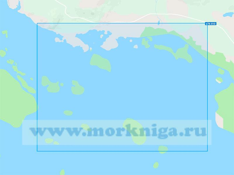 19046 Кандалакшский подходный фарватер (Масштаб 1:10000)