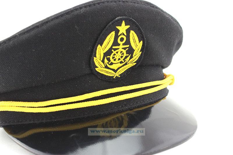 Фуражка плавсостава речного флота (черная)