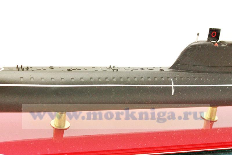 Модель атомной подводной лодки проекта 658