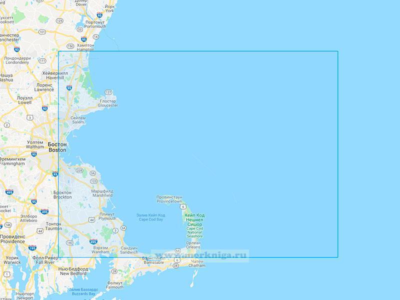 22666 От бухты Хамптон до залива Кейп-Код (Масштаб 1:200 000)