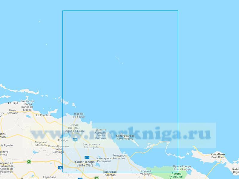 22724 От порта Ла-Исабела (Исабела-де-Сагуа) до острова Кайман-дель-Фаро (Кайман-Гранде) (Масштаб 1:200000)