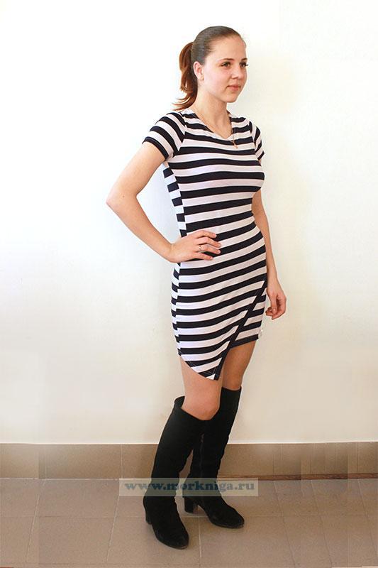 Платье Тельняшка (с дизайном)