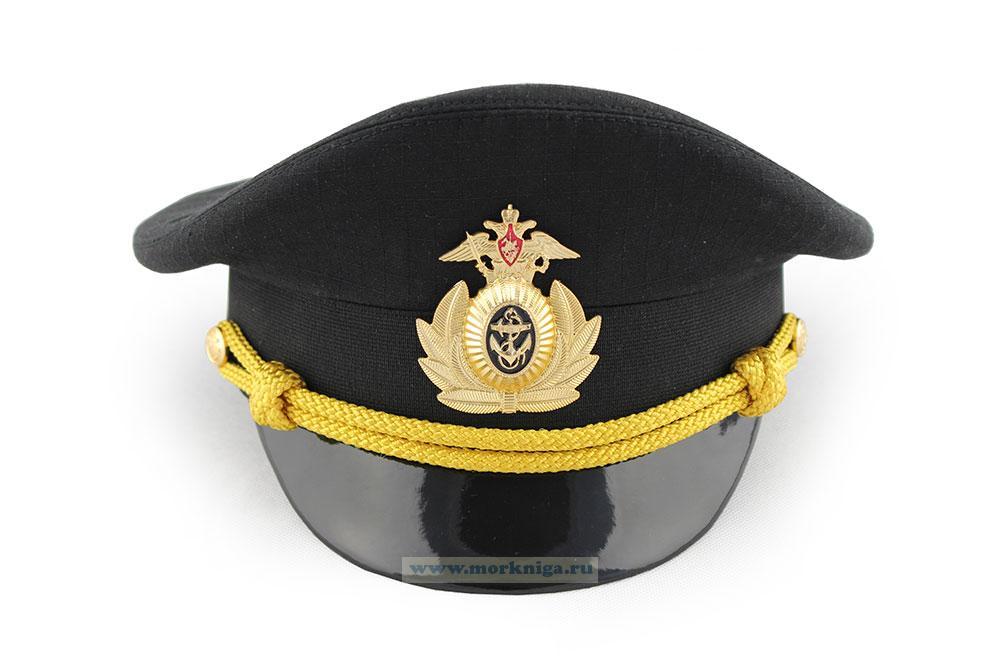 Фуражка уставная ВМФ черная офисная