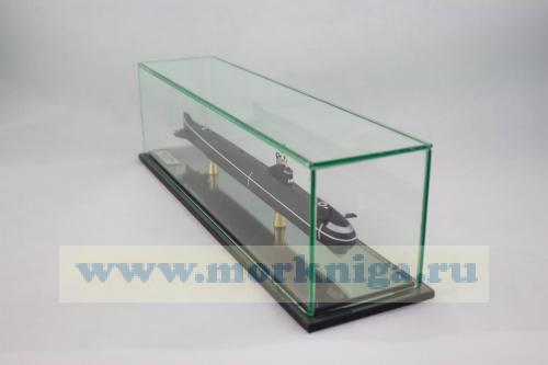 """Модель атомной подводной лодки проекта 627 А """"Кит"""". Класс NOVEMBER"""