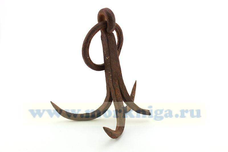 Якорь абордажный (простой абордажный крюк)