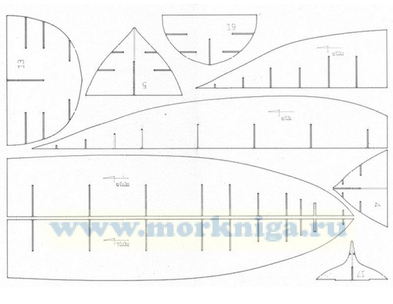 Бумажная модель атомного ледокола