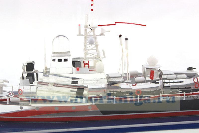 Модель малого ракетного корабля пр. 12341