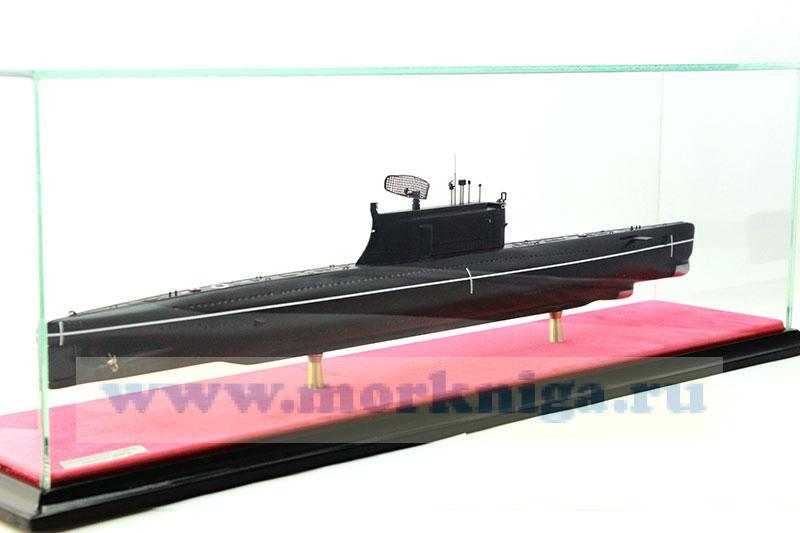 Модель атомной подводной лодки пр. 640 Д