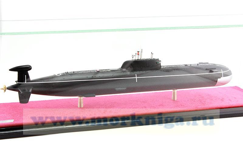Модель атомной подводной лодки проекта 945