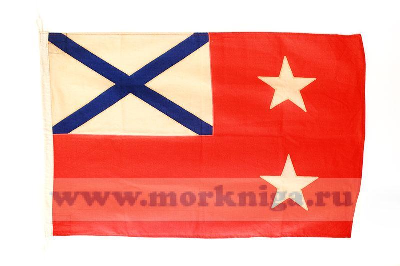 Флаг командующего флотилией, эскадрой РФ