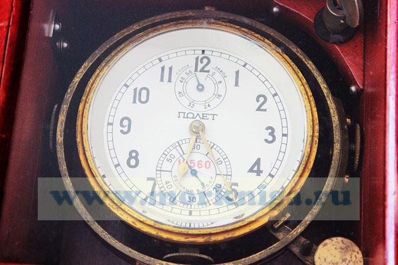Хронометр морской в чехле