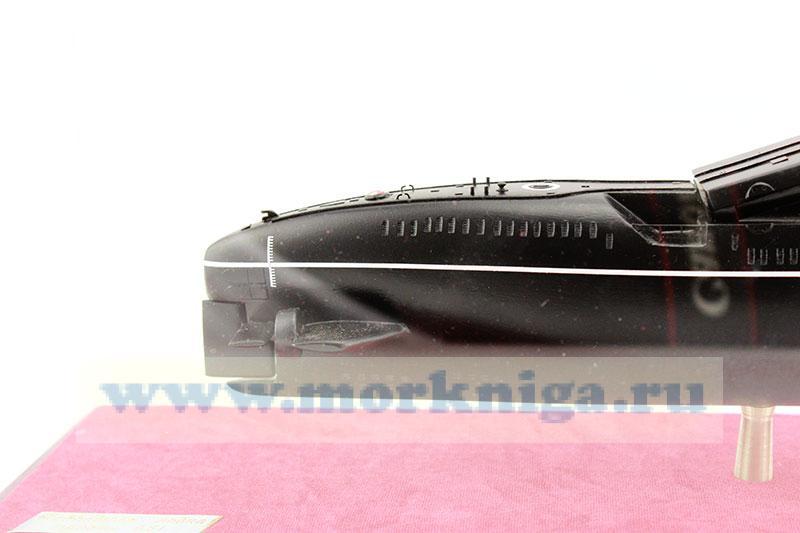 Модель дизельной ракетной подводной лодки проекта 651