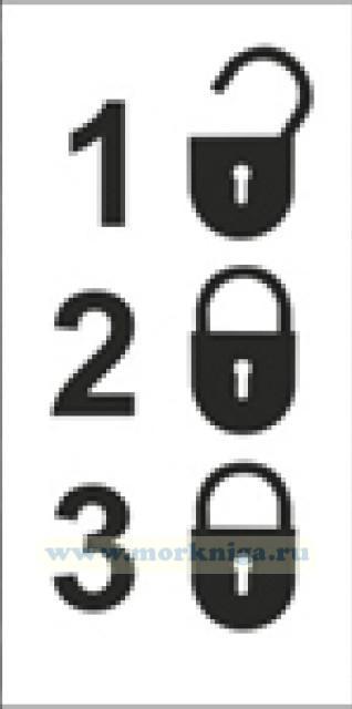 Комбинация С. Combination C (самоклейка)