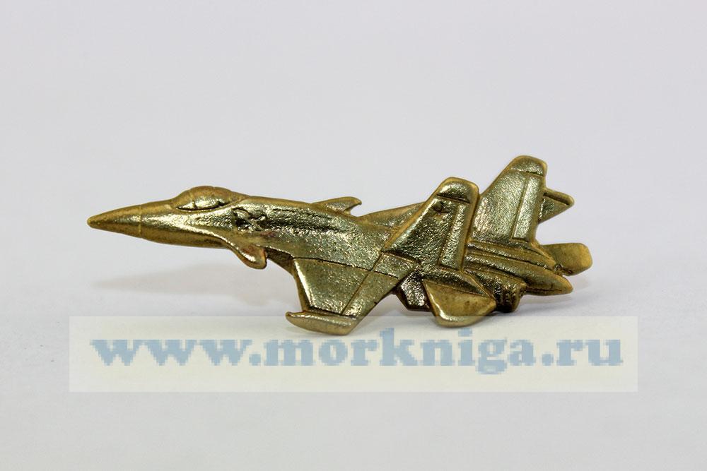 Значок Самолет, малый (латунь, на пимсе)