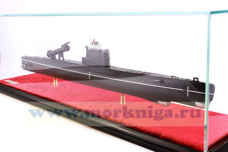 Модель подводной лодки проекта 613П