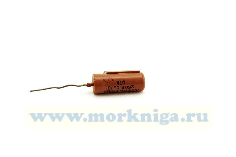 Конденсатор К75П-4БХ 0,47 мкФ 20% 250 В