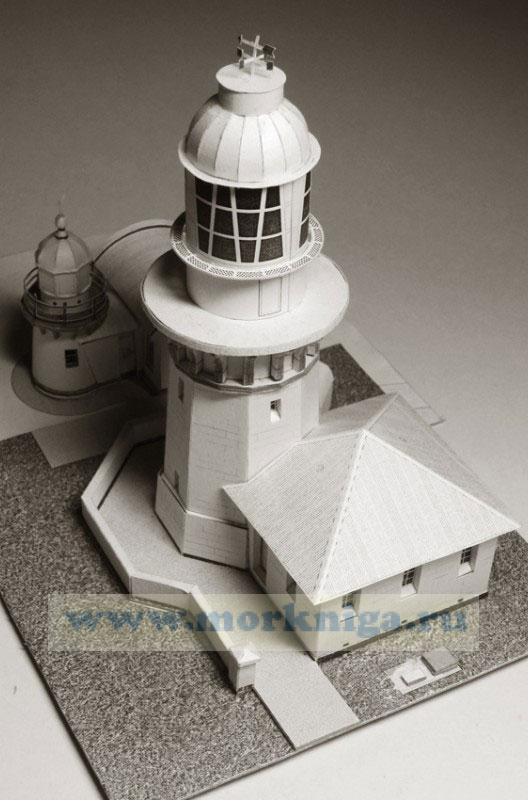"""Маяк """"Smoky Cape"""". Австралия, 1891 г. Маяк """"Tacking Point"""". Австралия, 1879 г. Бумажное моделирование (масштаб 1:150). Серия """"Архитектура"""", выпуск 178"""
