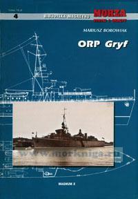 ORP Gryf. Biblioneka magazynu. Morza statki i okrety