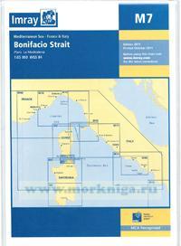 M7 Bonifacio Strait. Пролив Бонифачо