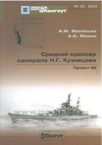 Средний крейсер адмирала Н.Г. Кузнецова. Проект 66