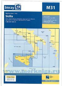 M31 Sicilia Сицилия (1: 400 000)