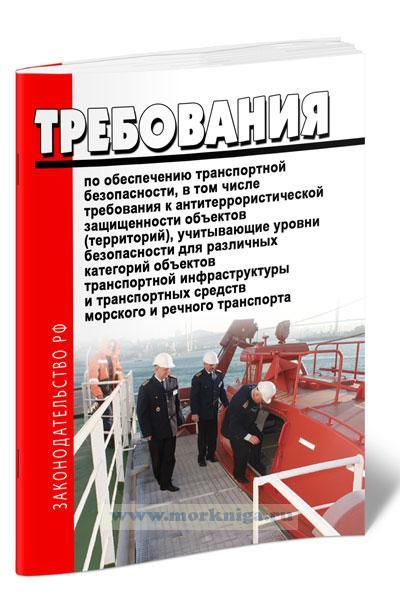 Требования по обеспечению транспортной безопасности, в том числе требования к антитеррористической защищенности объектов (территорий), учитывающие уровни безопасности для различных категорий объектов транспортной инфраструктуры и транспортных средств морского и речного транспорта 2020 год. Последняя редакция