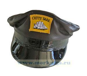 Капитанка кожаная коричневая CUTTY SARK