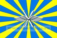 Флаг Военно-воздушных сил России, флаг ВВС Росси (12 х 18)